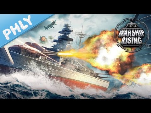 Warship Rising | 10v10 Real Time Naval Battles On The GO (Warship Rising Gameplay)