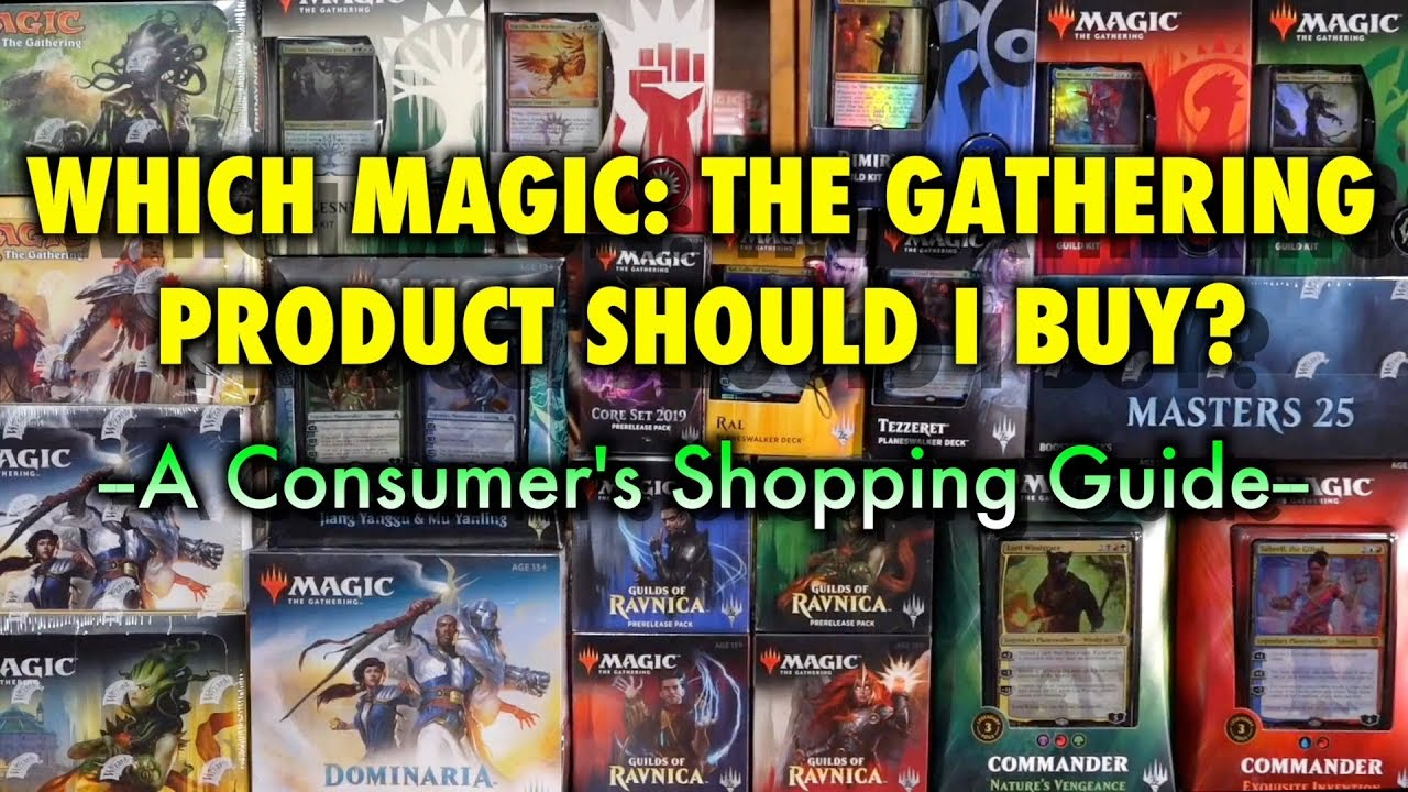 6a78eb359 Which Magic: The Gathering Product Should I Buy? A Consumer's Shopping Guide