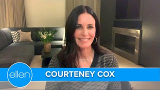 Courteney Cox on the 'Friends' Reunion & New Roommate Ellen