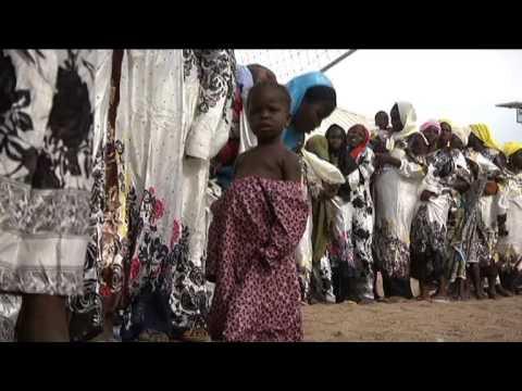 Appui de l'UNFPA aux déplacés internes du camp de Yola, Nigeria