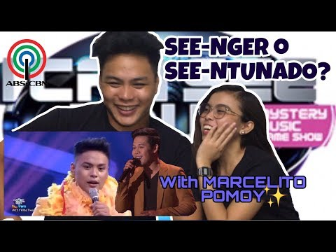 I CAN SEE YOUR VOICE REACTION VIDEO WITH MARCELITO POMOY   FRAMICH TV