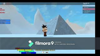 fighting AGAINST broly from DBS at ROBLOX