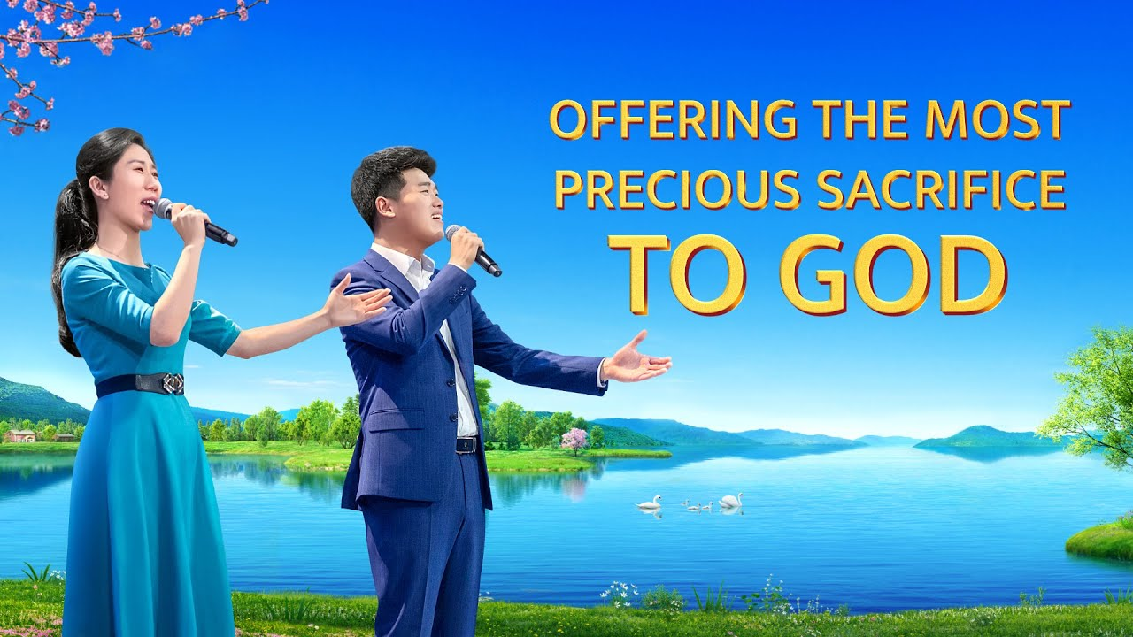 """""""Offering the Most Precious Sacrifice to God"""" 
