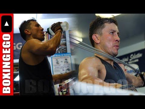 GENNADY 'GGG' GOLOVKIN TRAINING WILL STOP AT NOTHING TO DEFEAT CANELO ALVAREZ