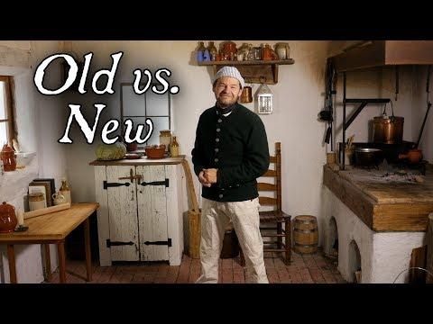 Historic Kitchens vs. Modern Kitchens