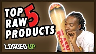 Top 5 Favorite Raw Rolling Paper Products