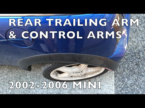 200206 MINI Cooper Broken Trailing Arm  Control Arms Replacement