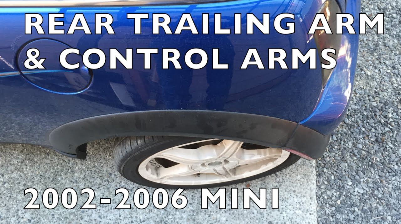 How To Replace Broken Trailing Arm Control Arms 2002 06