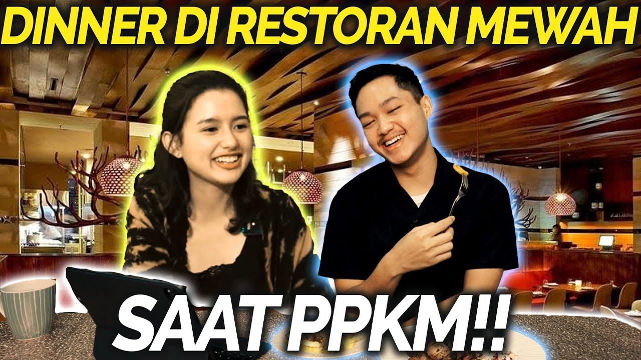 GAWAT!! PPKM AZRIEL TETAP AJAK SARAH DINNER DI RESTO MEWAH!!