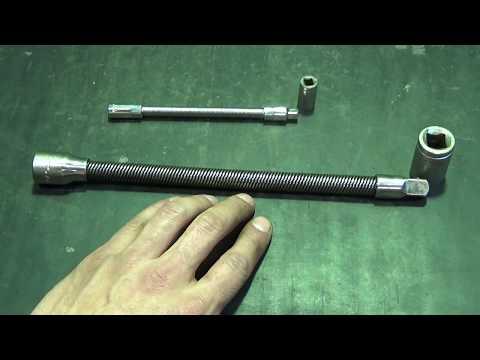 Гибкий вал 1/2   Своими руками.  Homemade flexible shaft 1/2