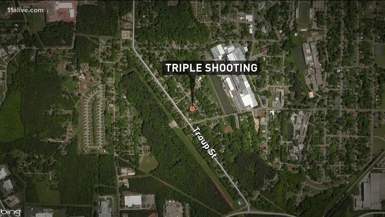 Police searching for gunman in LaGrange triple shooting