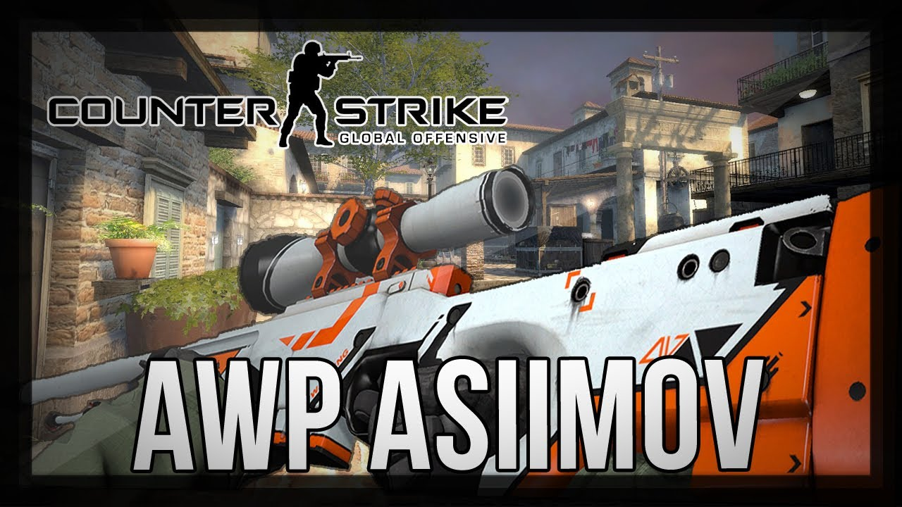Awp asiimov gameplay cs go youtube - Awp asiimov css ...