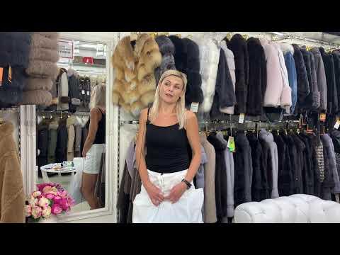 Видеоотзыв Покупателя мехового магазина Инсайт Одесса.Верхняя одежда из кожи и меха.Аксессуары