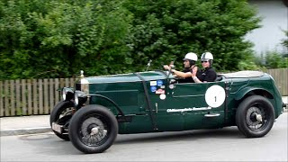 Oldtimer Rally, Alex von Falkenhausen Classics am 26.07.2014 bei Landshut, HD
