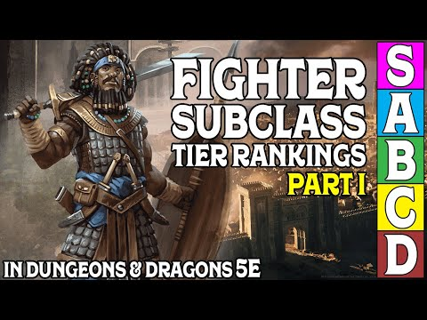 Fighter Subclass Tier