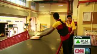 Behind the scenes at DHL Singapore