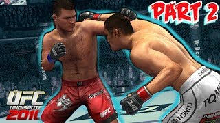 More Mike Lowry Taking on UFC Undisputed 2010 Career Mode Live Let's Play 2   Xbox 360 Gameplay