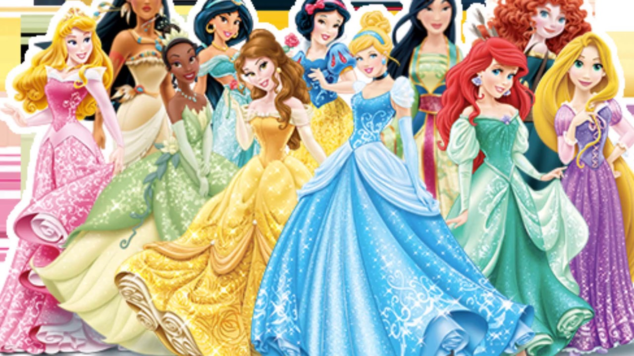 Disney Princess Characters theme Songs - Parte 1 - YouTube