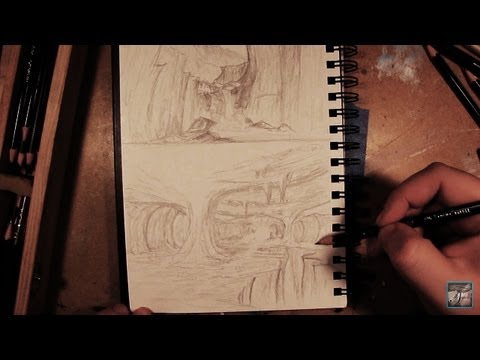 Basics Of Drawing Landscape Concept Art