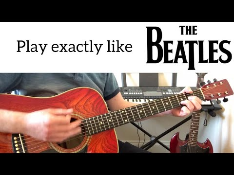 P.S. I Love You Guitar Tutorial - Learn How To Play Exactly Like The Beatles