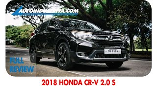 2018 Honda CR-V 2.0 S - Full Review