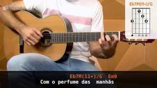 Pensando Em Você - Paulinho Moska (aula de violão completa)