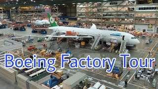 Boeing Everett Factory Tour Boeing 747 767 777 X 787 Assembly Line