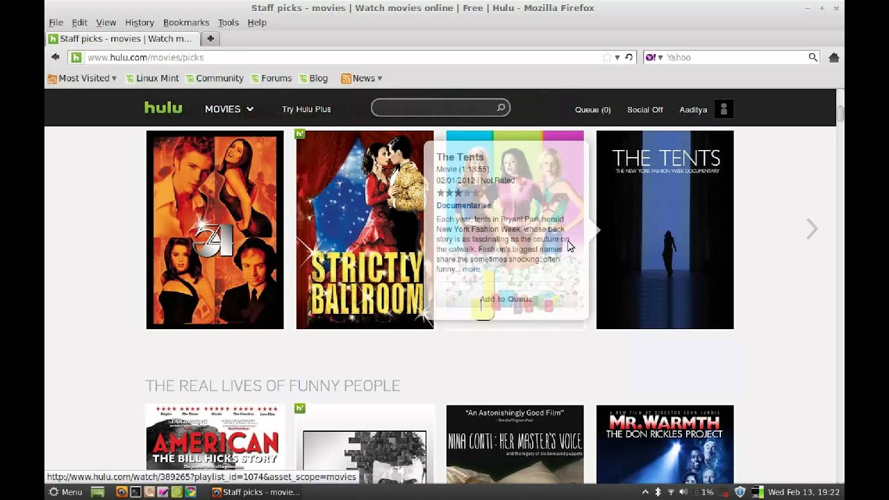 Watch Hulu.com from Countries Outside US on Linux Mint ...