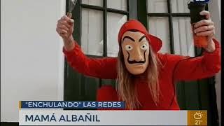 Mami Albañil, un caso viral