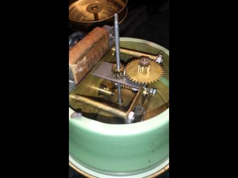 Vintage Jersey tape measure clock working