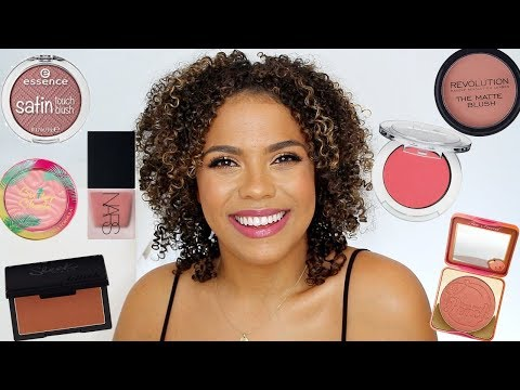 Best Blushes for NC42/Best Peach+Neutral Blushes!! Drugstore & Highend