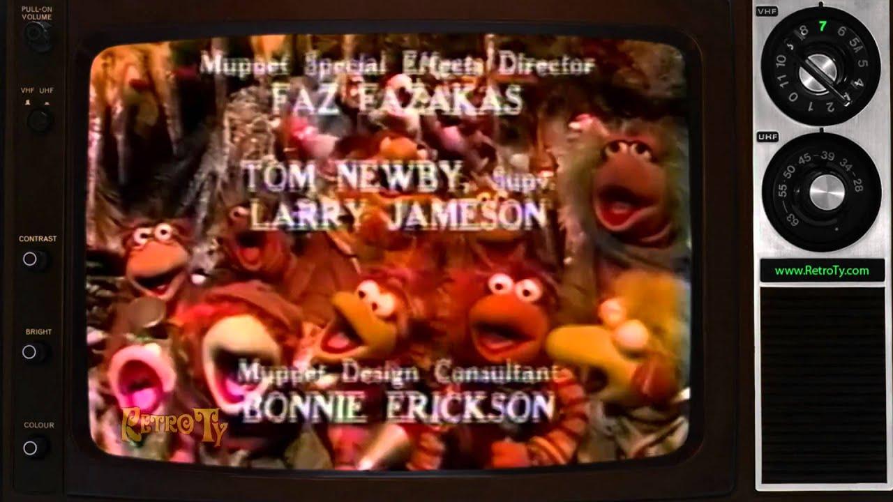 1984 - Fraggle Rock Christmas End Credits - YouTube