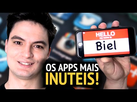 Thumbnail: OS APLICATIVOS MAIS INÚTEIS DO MUNDO