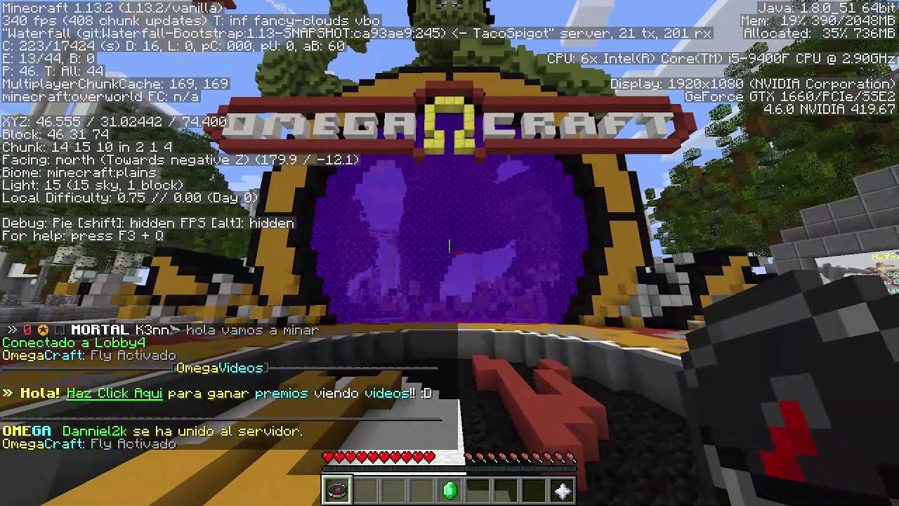 Las personas del OmegaCraft hablan