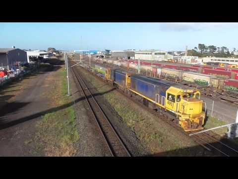 wiri-auckland port freight shuttle