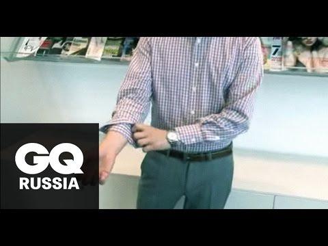 Как подворачивать рукава на рубашке: видеоинструкция GQ