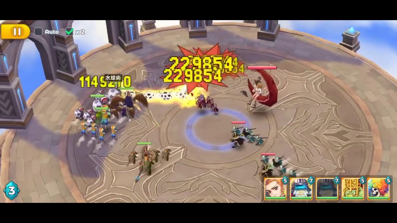 RO:我的戰術 雙月主號 吉芬塔 353層 銀月魔女神煩 #RagnarokTactics #GeffenTower 353 - YouTube