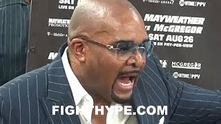 LEONARD ELLERBE ERUPTS; CHECKS CRITICS OF TICKET SALES FOR MAYWEATHER VS. MCGREGOR