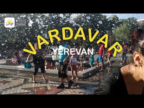 Vardavar water festival