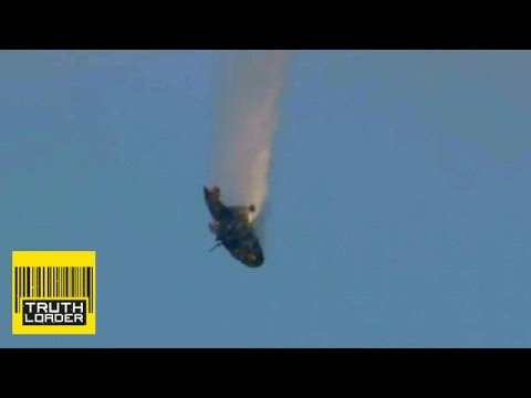 Syrian helicopter shot out of the sky