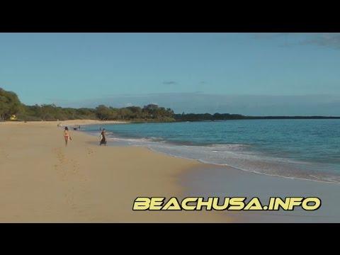 Makena State Park Big Beach Oneloa Beach Maui Hawaii