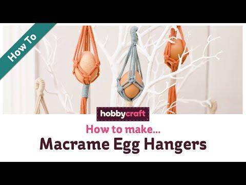 how-to-make-macrame-egg-hangers-for-easter-|-hobbycraft