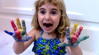 Набор СВИНКА ПЕППА для рисования , учимся писать и считать, Peppa Pig paint set for kids