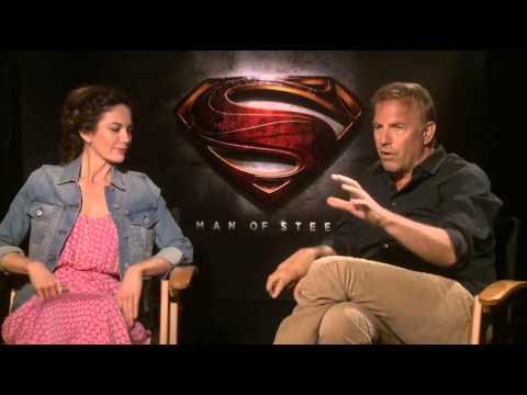 Diane Lane & Kevin Costner Interview - Man of Steel