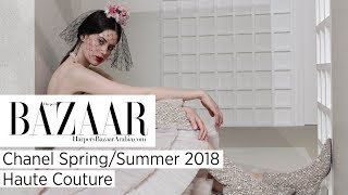 Baixar Exclusive Look At Chanel's Spring/Summer 2018 Haute Couture | Harper's Bazaar Arabia