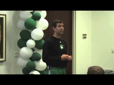 Brad Stevens: Two Keys To Leadership