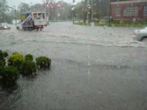 glen cove flooding.WMV