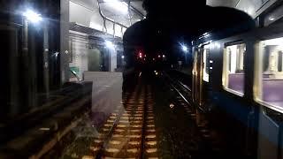 【前面展望】JR四国 早朝の予讃線 旧124M多度津行き(新122M高松行き)普通列車 伊予北条→今治