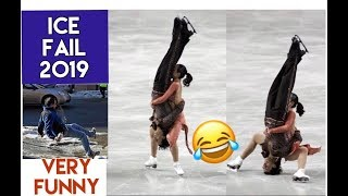 ICE FAIL/ Funny People Falling on Ice COMPILATION 2019 /VERY FUNNY