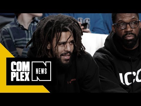 How J. Cole Almost Played a Big Part in the NBA Slam Dunk Contest